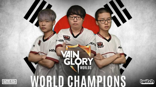 "Phoenix Armada, Juara Dunia Pertama Vainglory dari Korea<span class=""wtr-time-wrap after-title""><span class=""wtr-time-number"">1</span> min read</span>"