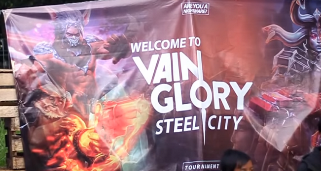 On Site VainGlory Tournament – MOBA Spring Battle Field