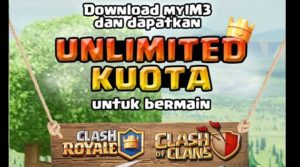 "Kuota Gratis Main Clash of Clan dan Clash Royal dari Ayoslide dan MyIM3<span class=""wtr-time-wrap after-title""><span class=""wtr-time-number"">1</span> min read</span>"