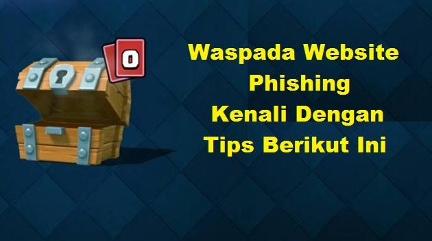Waspada Phishing, Jaga Kerahasiaan Akun Game Kalian