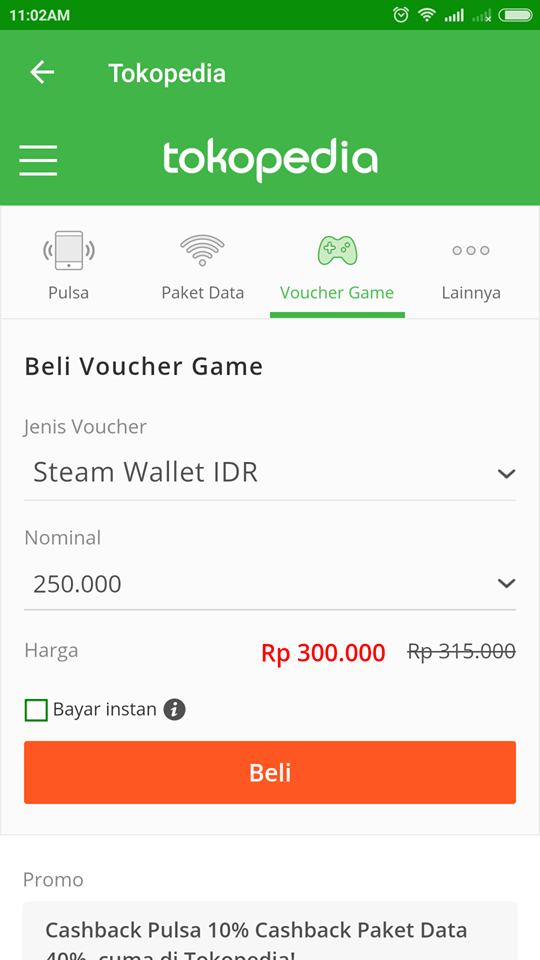 Battle Pass Gratis Dengan Belanja Voucher Game di Aplikasi Tokopedia