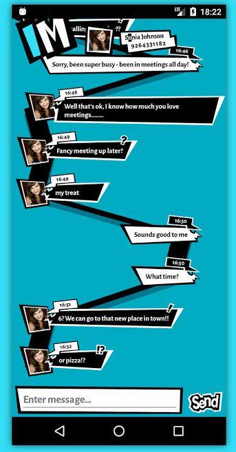 Fans Persona 5 Wajib Install Aplikasi Chat ini