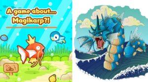 Saatnya Evolusi Menjadi Pokemon Terkuat, Gyarados, di Magikarp Jump