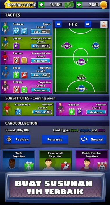 GameLevelOne Merilis Soccer Manager Arena SEA