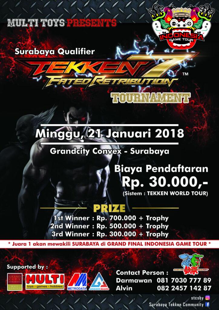 Pertandingan AoV dan Tekken 7 Warnai Kick Off Indonesia Game Tour 2018