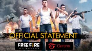 Sempat Hilang dari Playstore, Free Fire Resmi Dirilis Oleh Garena Indonesia