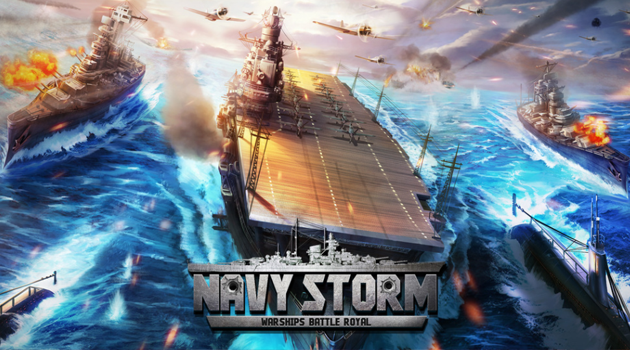 Siap Berperang di Lautan dalam game NAVY STORM : WARSHIPS BATTLE ROYAL