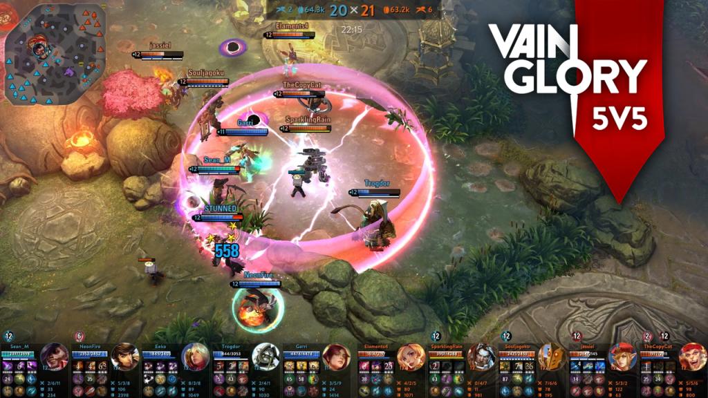 Mode 5V5 di game Moba Vainglory sudah tersedia, saatnya bertarung bersama Krul