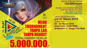 Turnamen Mobile Legends – RE-PLAY MLBB SEASON 1