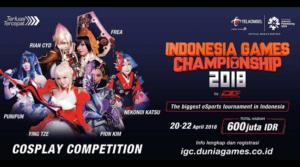 Indonesia Games Championship 2018 telah Dimulai, 600 Juta siap diperebutkan!