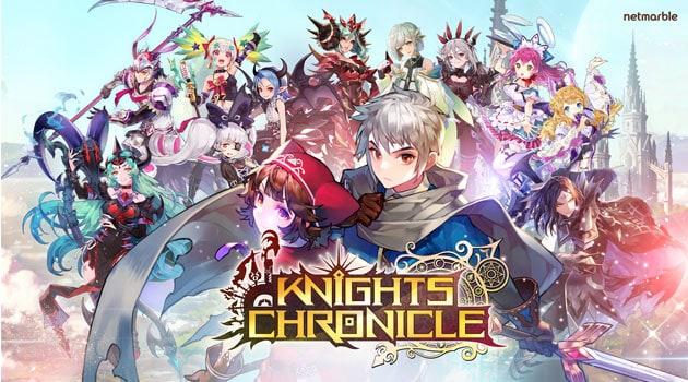 Turn-Based RPG Terbaru dari Netmarble Adalah Knights Chronicle, Wajib Main