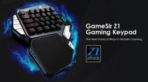 GameSir Z1, Keyboard Gaming Berteknologi BattleDock ke Smartphone Pertama di Dunia.