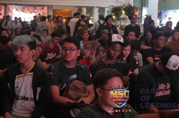 Ini dia Keseruan MSC 2018 Party Of Legends Press Conference