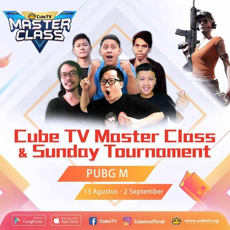 Peserta Cube TV Masterclass Membludak sampai Ratusan Ribu per Hari