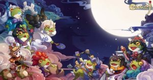 Froglets Invasion dalam Mobile Game Onmyoji?!