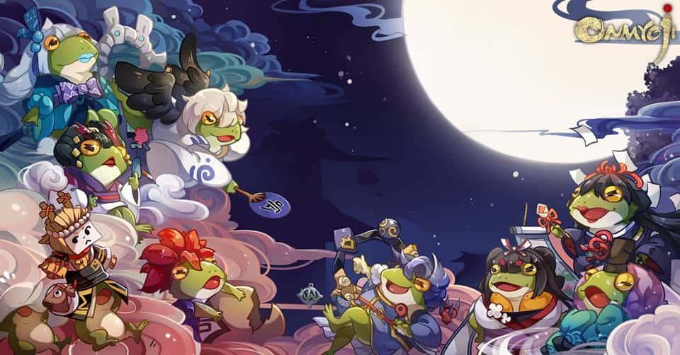 Froglets Invasion dalam Mobile Game Onmyoji?!