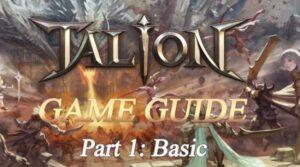 Ini Dia Panduan Dasar Game TALION, MMORPG Terbaru Dari GAMEVIL