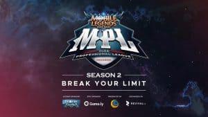 Ini Dia Rekap Pertandingan Team Professional Mobile Legends di MPL Season 2