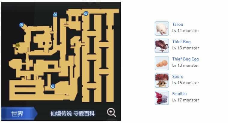 Prt_Sewer-1f-Map-Ragnarok-M-Eternal-Love