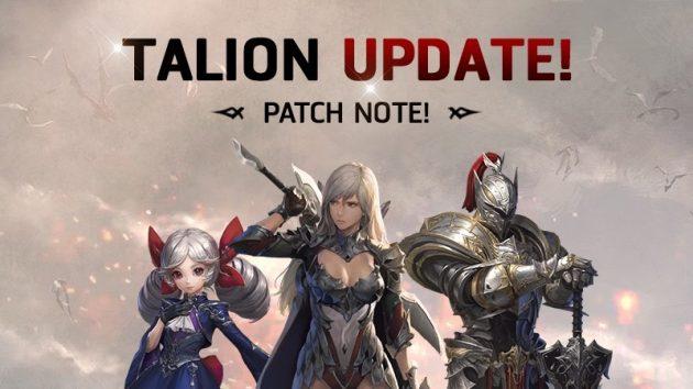 MMORPG Epik, TALION, Merilis Update Besar: Konten Guild 20vs20!