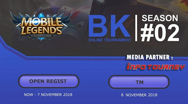 "Info Tournament Online Mobile Legends BK ONLINE SEASON 2<span class=""wtr-time-wrap after-title""><span class=""wtr-time-number"">1</span> min read</span>"