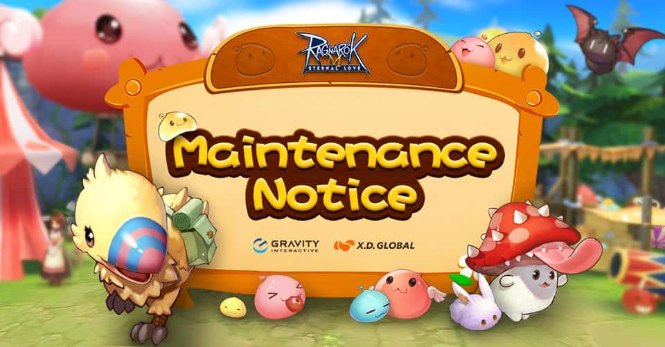 ragnarok m maintenance