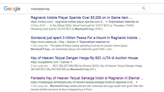 Murah, Cuma Segini Harga Key of Heaven Ragnarok M Eternal Love di Taiwan