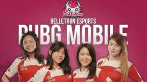 Belletron Esports Terjunkan 4 Gamer Cantik di PUBG Mobile