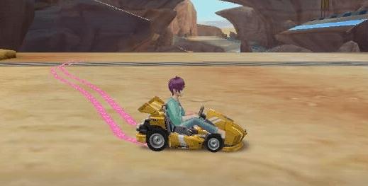 Hal Nyebelin di Speed Drifters