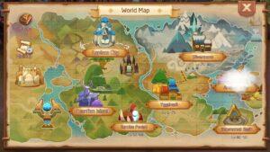Cheat Sheet Lokasi World boss spawn di game mobile Laplace M