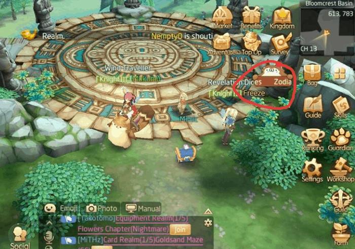Panduan Quest Laplace M, Monster Bell, Zodiac Sign dan Crystal Buoy