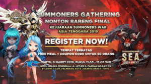 Summoners War Gathering 2019 – Nobar Final SEA Tournament