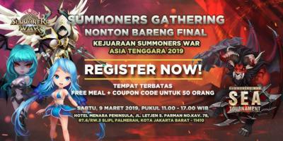 Summoners War Gathering 2019 – Nobar Final SEA Tournament