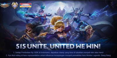 Mau Skin Epic Mobile Legends Gratis?Cek event 515 Unite