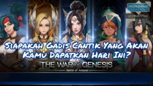 Cara Gacha di The War of Genesis