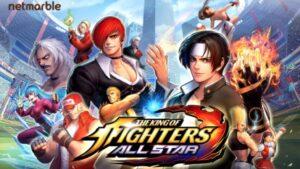 The King of Fighter ALLSTAR Action RPG Esport Terbaru dari Netmarble