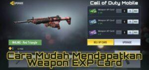 Cara Mudah Dapat Weapon EXP Card Call of Duty Mobile