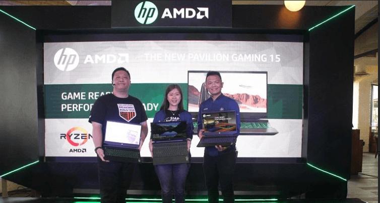 Luncurkan HP Pavilion Gaming 15, HP Dukung Gamers Indonesia