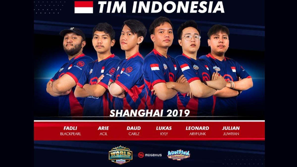 Megaxus Kembali Kirim Atlit E-Sport Tanding di AWC 2019 Shanghai, Maju Esports Indonesia