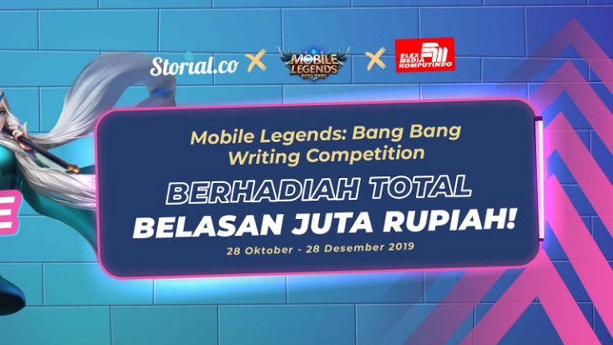Kompetisi Fanfiction Mobile Legends Berhadiah Belasan Juta Rupiah di Storial