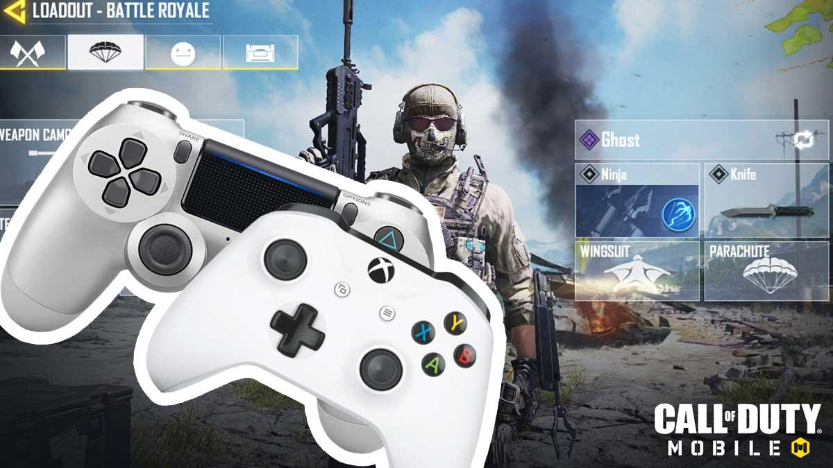 Panduan Bermain Call of Duty Mobile Dengan Controller DualShock PS4 atau Xbox One