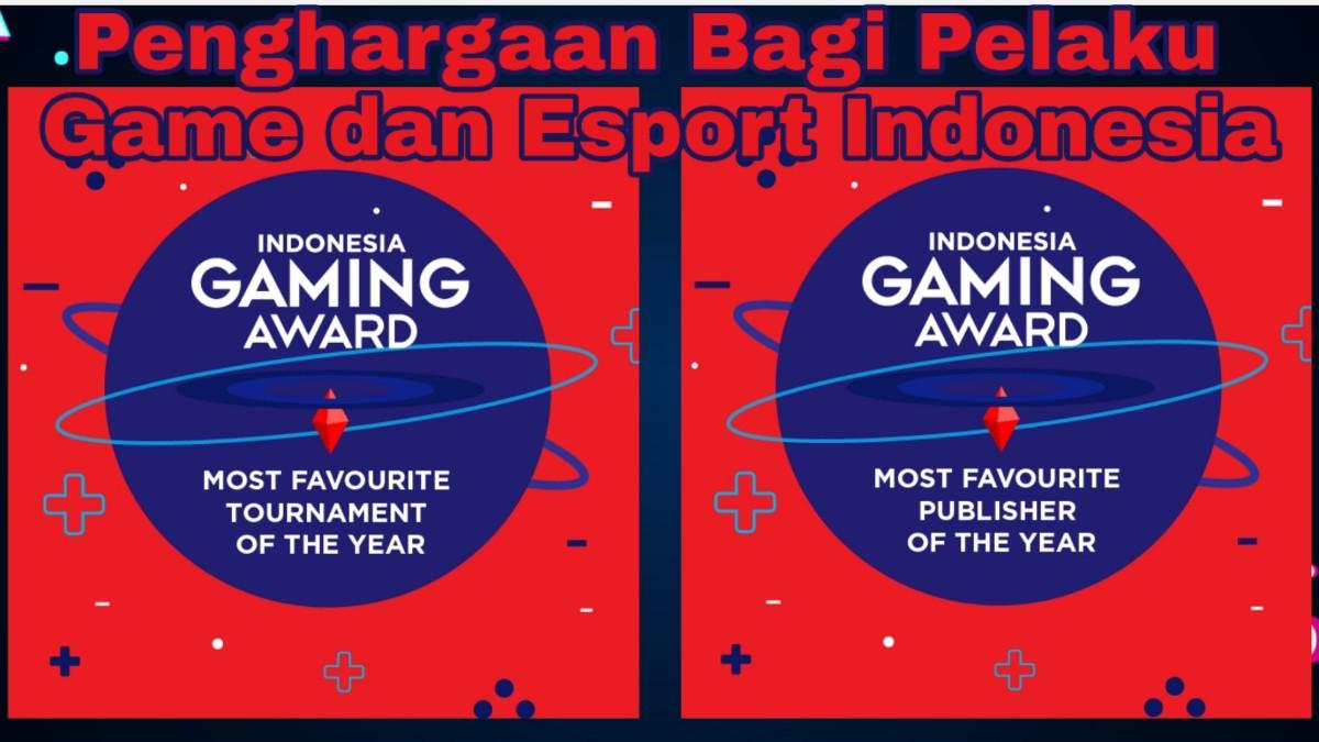 Indonesia Gaming Award di EXGCon 2019