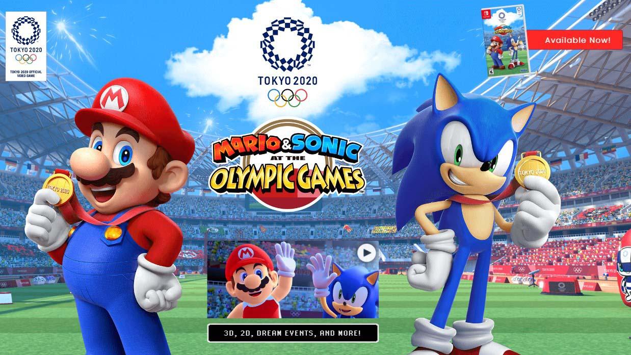 Mario & Sonic At The Olympic Games Tokyo 2020 Akhirnya Release!